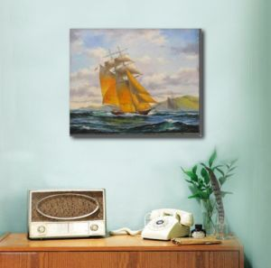 Wall Painting of Sailing Ship pictures & photos