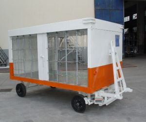 Baggage Cargo Trailer Cart for Aviation Equipment pictures & photos