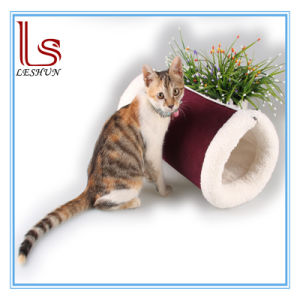 Super Pet Product Multi Purpose Corduroy Cat Tunnel Cat House Pet Bed Home Interior And Landscaping Synyenasavecom