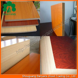 18mm Quality Melamine Paper Faced MDF/Laminated MDF/Wood Veneered MDF