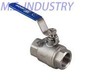 Stainless Steel Full Port 2PCS Ball Valve