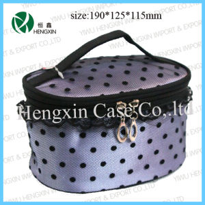 Nylon Makeup Kit Bag Professional Cosmetic Bag (HX-Z013) pictures & photos