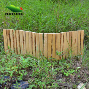 Hot Sale Hot Brown Wooden Color Garden Fence