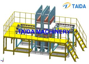 Molded Rubber Products Vulcanizing Press Vulcanizer Curing Machine with PLC pictures & photos