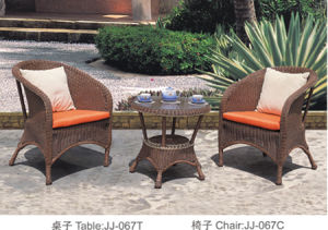Outdoor Furniture, PE Rattan Furniture, (JJ-067 T/C)