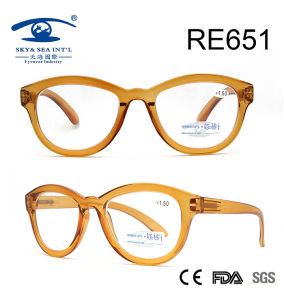 2017 Crystle Brown Fashionable Reading Glasses (RE651) pictures & photos
