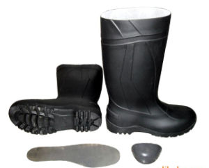 PVC Safety Rain Boots with Steel pictures & photos