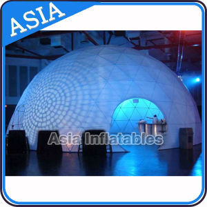 Waterproof Inflatable Lighted Dome Tent for Outdoor pictures & photos
