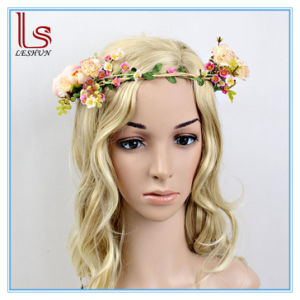 Fashion Wedding Bride Flowers Wreath Hair Accessories pictures & photos