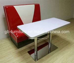 Hot Sale Restaurant Booth&Table for Restaurant (9080) pictures & photos