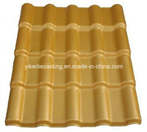 Corrugated Roof Tiles (ASA coated Spanish Style)