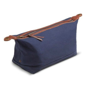 Custom High Quality Waxed Canvas Dopp Kit Unisex