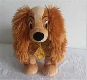 Plush and Stuffed Dog Toy for Disney
