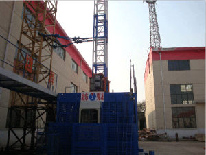 Sc100/100 Hoist for Construction with Max Load 2t pictures & photos
