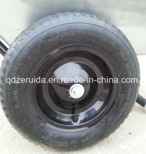 Wb6406 150kg Power Garden Metal Wheel Barrow for South America, Western Europe Market pictures & photos