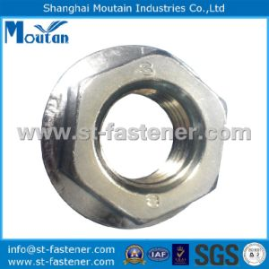 Carbon Steel Zinc Plated DIN6923 Grade8 Hex Flange Nuts