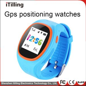 2018 High Quality and New Design Waterproof Sos Emergency Calls WiFi Digital GPS Tracker Kids Smart Watch Phone