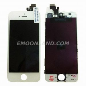 for iPhone 5 Complete LCD Digitizer with Frame Assembly - White