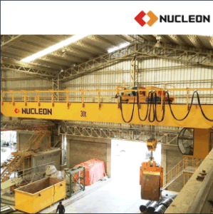 Nucleon Brand Double Beam Overhead Casting Crane 30ton pictures & photos