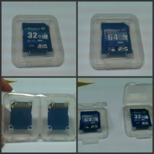 OEM Customised USB3.0 64GB Sdxc Card Class10 SD Memory Card
