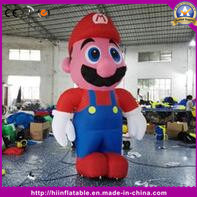 Outdoor Good Quality Inflatable Moving Man Decoration Cartoon for Advertising