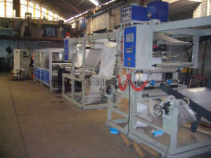 Bubble Film/ Kraft Paper Mailer Bag Making Machine (DISQ-700B) pictures & photos