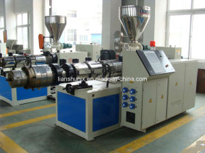CE/SGS/ISO9001 Double-Screw Plastic Extruder pictures & photos