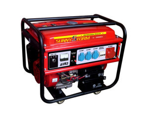 4kw/5kw/6kw Three Phase Portable Gasoline Generator pictures & photos