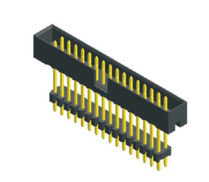 Btb Female Box Pin Ejector Header PCB Electronic Computer Connector (B200-D3)