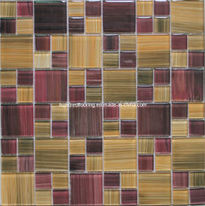 Hand Painting Mosaic Crystal Glass Mosaic Tile (HGM255) pictures & photos