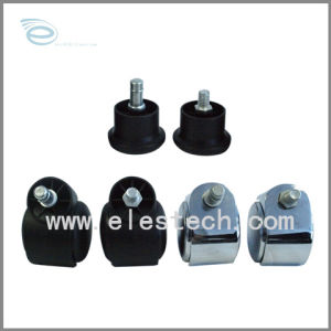 ESD Nylon Castor,5-Star Foot for Chair,ESD &Amp; Cleanroom Chair Parts,Nylon Castor,Chair Accessories