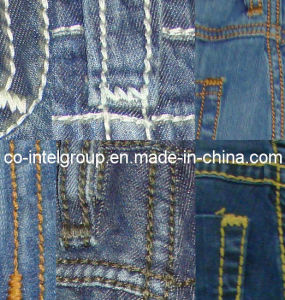 Thick Stitching Jeans