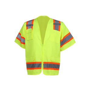 Class 3 ANSI High Visibility Reflective Safety Vest