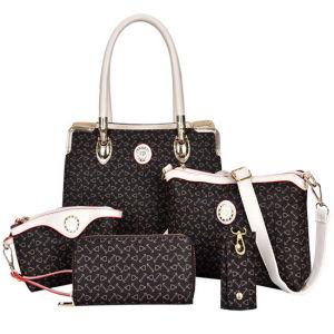 29736d92e8 China Classic Leather Handbag Set 5PCS Ladies Fashion Designer Bags ...