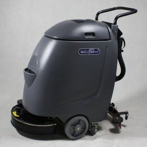 Small China Supplier Floor Scrubber with Battery Charges pictures & photos