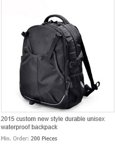 New Style Durable Unisex Waterproof Backpack