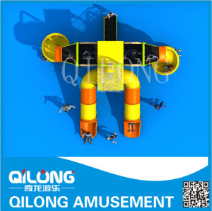 Plastic Commercial Water Slide Playground (QL-150707C) pictures & photos