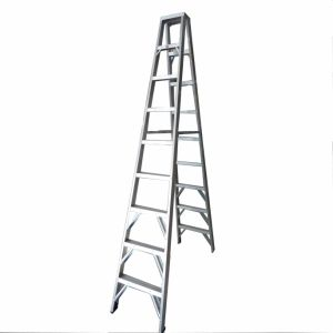 (375LBS) Aluminum Alloy Double-Side 9-Step Ladder pictures & photos