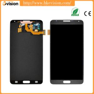 Black LCD Screen Mobile Phone LCD Display Touch Panel with Frame for Galaxy Note 3 Neo // N7505 Color : White