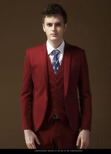 China red pants man