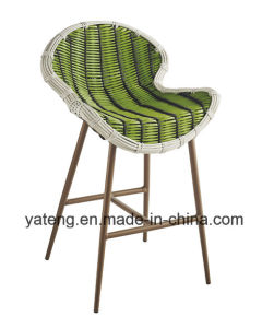 Leisure Outdoor Garden Furniture Rattan Bar Stool Withtable by 6person Set (YT896-2) pictures & photos
