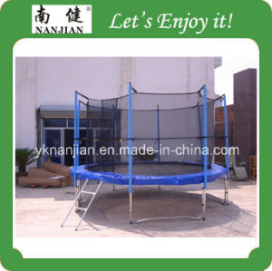 13ft Big Theme Park Outdoor Trampoline with Safety Net Nj-Big13 pictures & photos