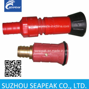 Straight Nozzle Red Plastic Nozzle Fire Nozzle pictures & photos