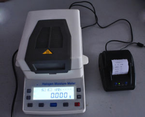 Halogen Moisture Meter for Food, Grain, Vegetable Seed, Plastic, Soil pictures & photos