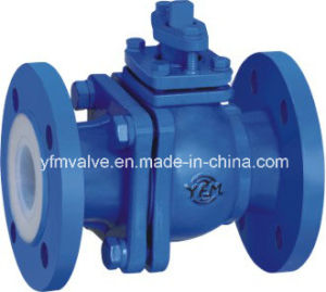 PFA Lined Ball Valve for Chemical pictures & photos