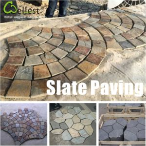 Granite/Basalt/Slate/Bluestone Cobble Stone Cube Stone for Walkway/Driveway/Parking Pavers/Paving pictures & photos