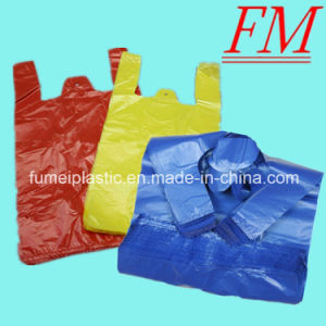 Custom Packaging Shopping Plastic Clear Poly T-Shirt Bags