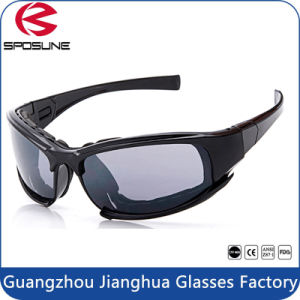Dual Foam Black Frames Motorcycle Safety Goggles Over Rx Prescription Glasses