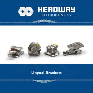 2017new Type Orthodontic Bracket, Lingual Brackets with Ce ISO FDA