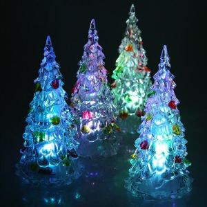 led lighted battery operated christmas led tree